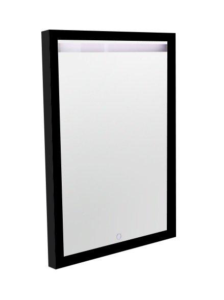 Best Design Black Miracle spiegel met verlichting 60cm mat zwart