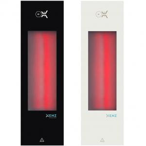 Xenz Feel Good Shower Infrarood aluminium 60x20 zwart