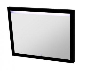 Best Design Black Miracle spiegel met LED verlichting 80 cm mat zwart