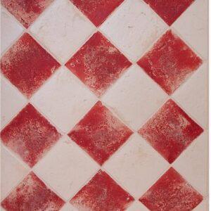 Spaanse vloertegel Terre D'Azur Tierra 10x10cm Rood